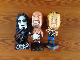 FINAL REDUCTIONS! WRESTLING FIGURES, £3 THE SET, EXCELLENT CONDITION, IDEAL CHRISTMAS PRESENT.