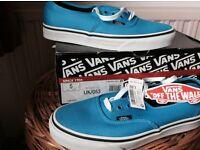 Vans - Bright Blue Canvas Size 5 (EU 38)