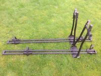 Two Halfords roof mount cycle carriers REDUCED