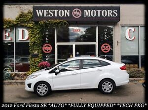 2012 Ford Fiesta *SE *AUTO *FULLY EQUPD * TECH PKG *ACCIDENT FRE