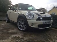 Mini Cooper s 2008 turbo low miles only 26,000 full history