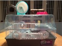 Large plastic hamster home