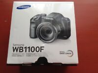 Unused Samsung WB1100F smart camera