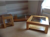 M&S TV & Video stand, coffee table plus 2 lamp tables