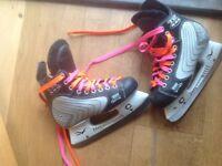 Ice Hockey Boots / Skates size 3 TRI Tech