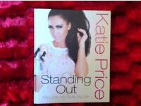 Katie Price 'Standing Out' book