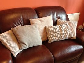Selection of grey cushions