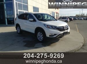 2015 Honda CR-V EX. Local lease return, One owner, Manitoba car