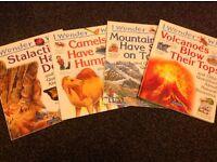 Children's Book Bundle 'I Wonder Why' series - 4 books, EXCELLENT CONDITION