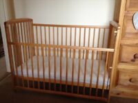 Two cots very good condition