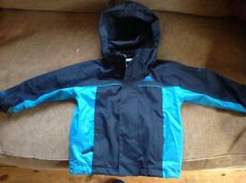 Trespass waterproof coat age 3-4. Lovely condition.