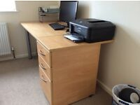 Desk and Drawers perfect for a student