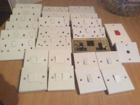White switches and sockets