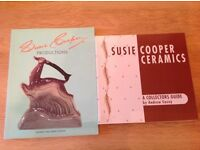 2 x Susie Cooper Ceramic and productions books collectors guide