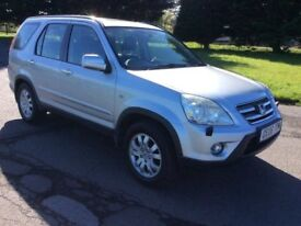 STUNNING 2006 Honda CRV, DIESEL, 4x4, MOT April-2019, Full Service History. Part Exchange Considered