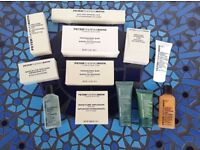 260+ travel size toiletries & products (Peter Thomas Roth) & Crystal Collagen Eye Masks
