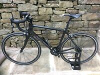 Planet X Pro Carbon Road Bike (SRAM Force). Classic Matt Black. Large Frame suits 5ft9 to 6ft2.