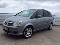 *56* VAUXHALL MERIVA * 1.6 ACTIVE * 60K * 12 MONTHS M.O.T * F/S/H * PRIVACY GLASS * MPV * STUNNING