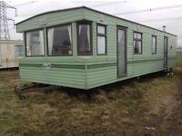 Willerby kestrel static caravan 2 berth