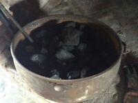 Cast Iron Cauldron/Coal Bucket