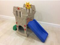 Little Tikes Castle and Activity Slide