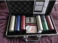 BRAND NEW And sealed POKER SET