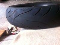 avon av72 cobra rear tyre 130/80/16