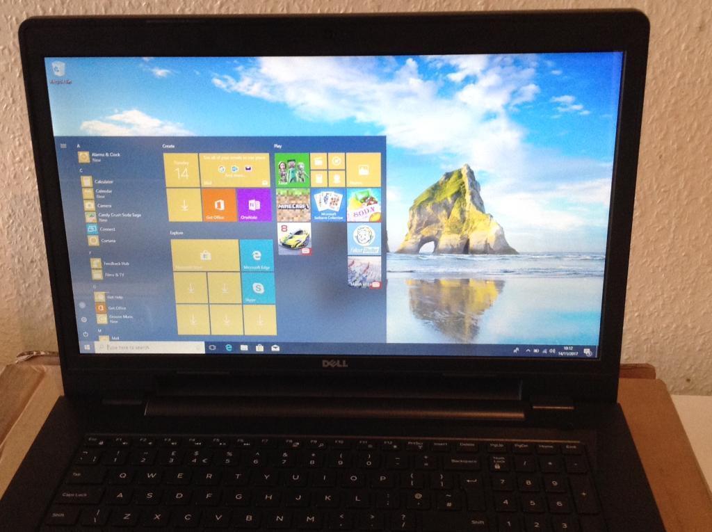 Dell Inspiron 17 i7 4510u processor Laptop win 10 ............. Mint condition..........