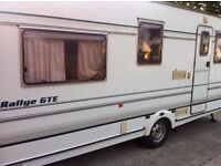 Ralley Compass GTE 490/5 berth Touring Caravan