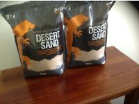 Desert Sand - a natural yellow sand ideal for reptiles or other