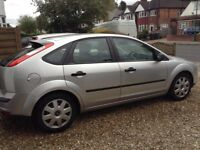 Good condition silver ford focus