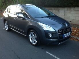 Peugeot 3008 2.0 HDi FAP Allure 5dr Auto 2012 (62 Reg) - FSH Finance Arranged Pan Roof Price £7950