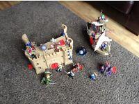 Pirate Ship & Castle Play Set