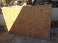 Plywood sheet approx 4ft x 7ft