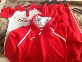 Rainbows uniform in good condition (medium)