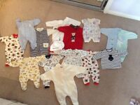 Baby Clothes - bagged bundles - B&G, 0-3 months & 3-18months
