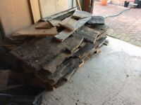 Stone slabs (Ex roofing tiles)