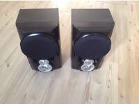 Pair of speakers.