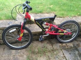 Child bicycle 20inch wheel red