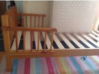 Toddler's bed with mattress VGC