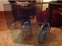 Gerbil cage, 3 layers in good condition