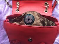Moschino red crossbody bag brand new with tag