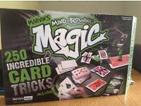 Magic tricks game set.