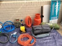 Camping and camping equipment