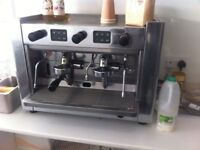 Brasilia commercial coffee machine works as it should
