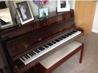 Free. Upright piano and stool, buyer collects.