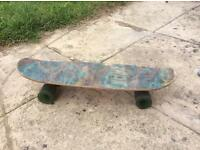 Trax aloha 1970s skateboard - great find