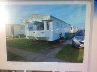 Caravan to let Presthaven Sands