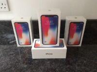 Apple iPhone X 256GB Sim free/Unlocked Brand New & Sealed