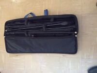 Boom Microphone stands set of 3 including gigbag